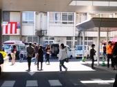 こちらは病院祭、福祉車両を展示しました。