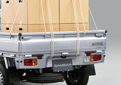 JAサンバー長野県限定車にはバックソナーと後方誤発進抑制制御装置(AT車)が装着